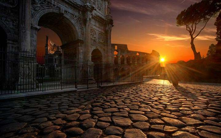 Roads of ROME, Italy